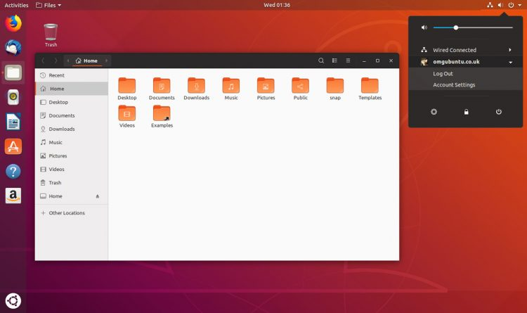 ubuntu 18.04 with communitheme