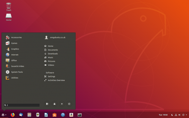 Ubuntu 18.04 with GNOME Extensions
