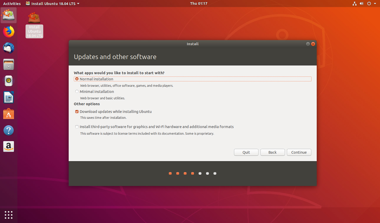 the ubuntu minimal install option.jpgthe ubuntu minimal install option.jpg