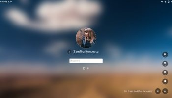 First Look: GNOME's Stylish New Login & Lock Screens