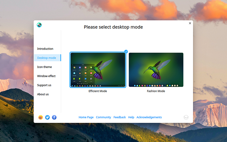 Deepin 15.6: New Welcome/Introduction App