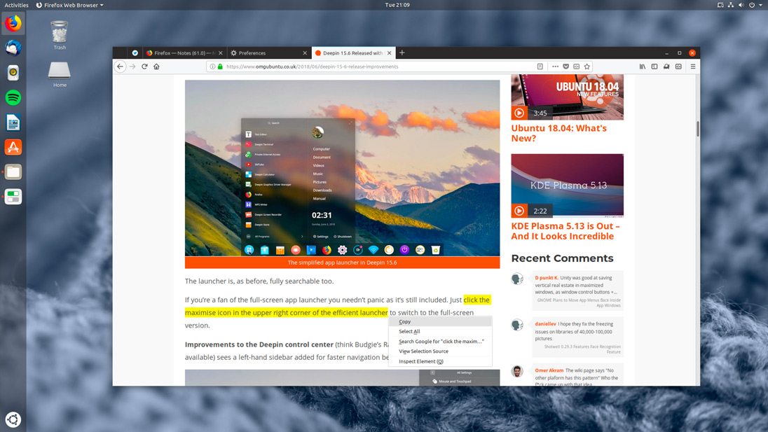 Firefox 66 Will Use CSD By Default on Linux - OMG! Ubuntu!