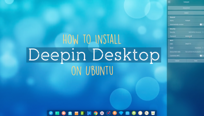 how to install deepin desktop on ubuntu