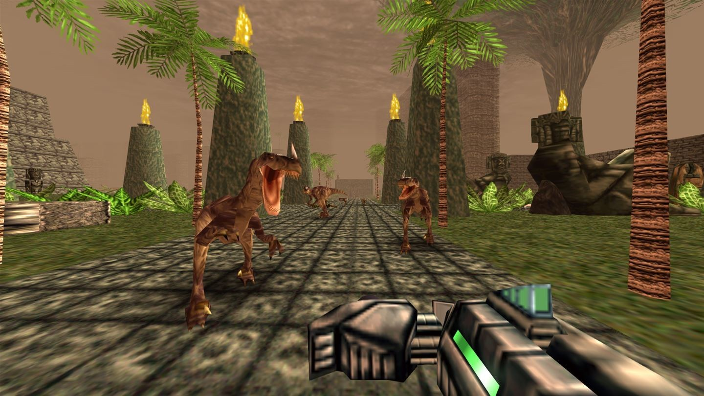 Turok Dinosaur hunter: remastered screenshot