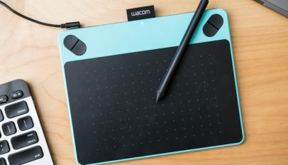 Wacom tablet via