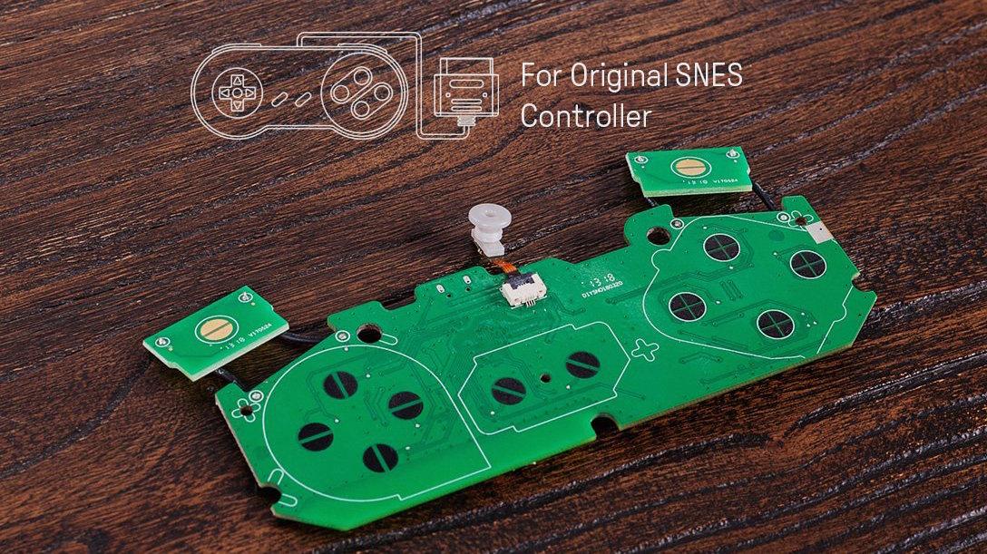8bitdo SNES controller DIY PCIB