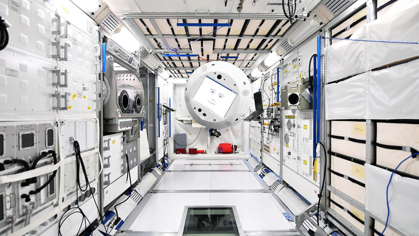 CIMON AI assistant now aboard the international space station