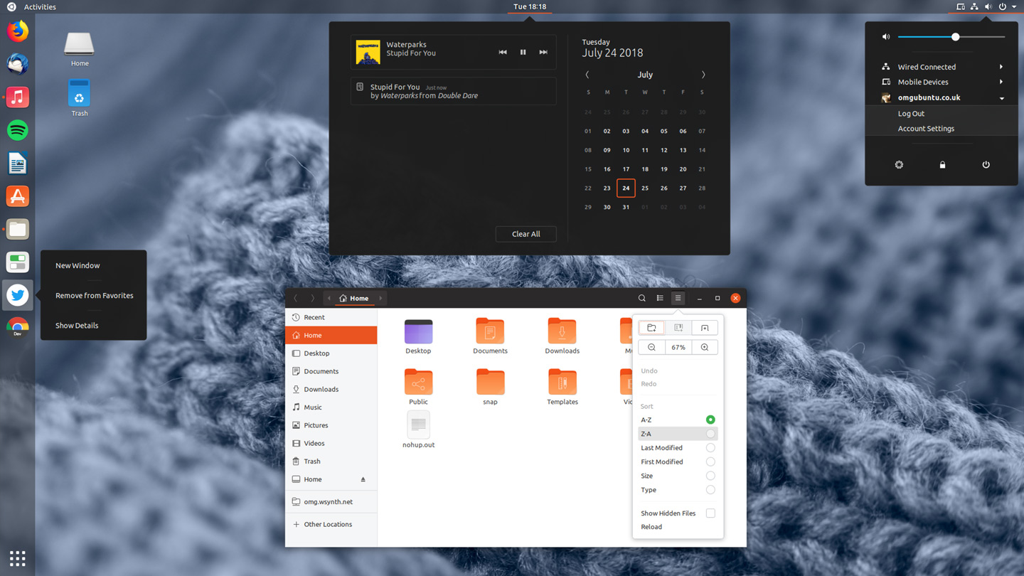 Yaru, the new ubuntu theme formerly known as communitheme