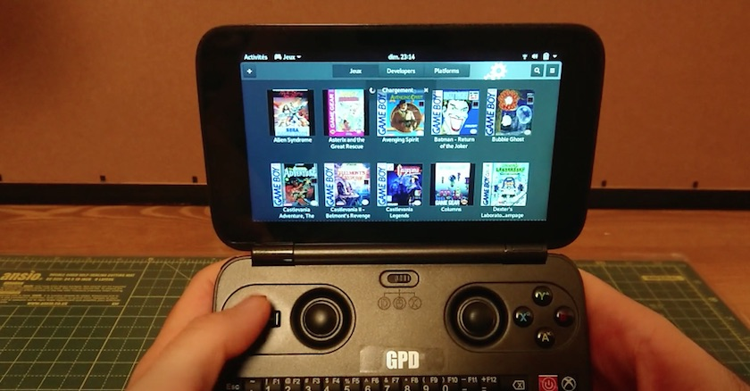 GNOME GAMES 3.30 on GPD WIN