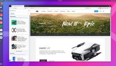 Firefox Advance is a test pilot experiment