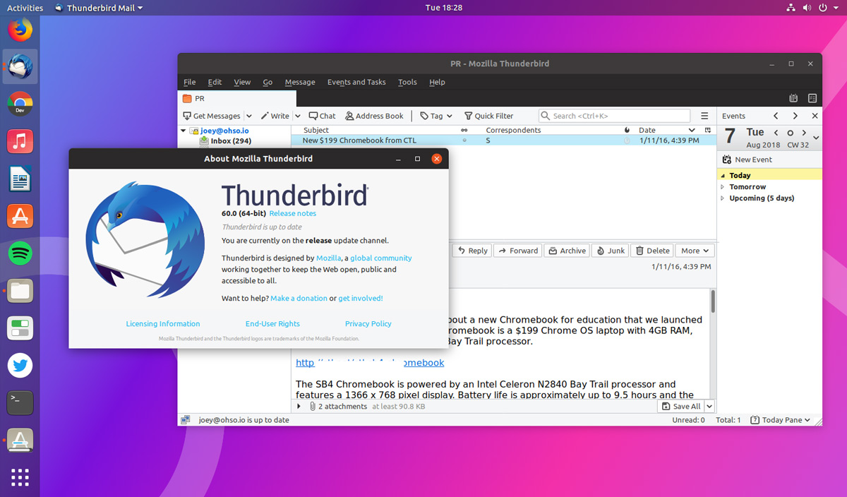 download thunderbird for windows 7 64 bit