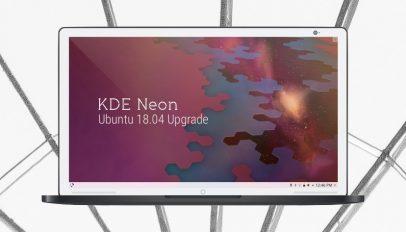 KDE Neon Now Based on Ubuntu 18.04 'Bionic Beaver'