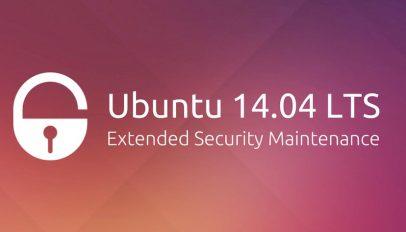 Ubuntu 14.04 Extended Security Maintenance