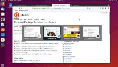 Firefox 63.0 tab switching