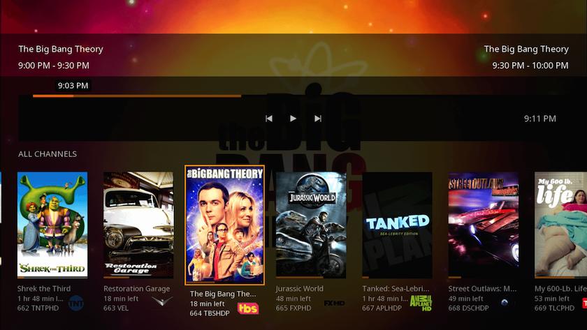 Screenshot of Plex Media Server