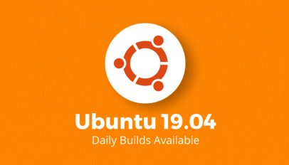 ubuntu 19.04 daily builds are available to download