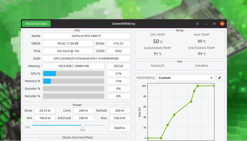 Easily Overclock NVIDIA GPUs on Linux with This New App - OMG! Ubuntu!