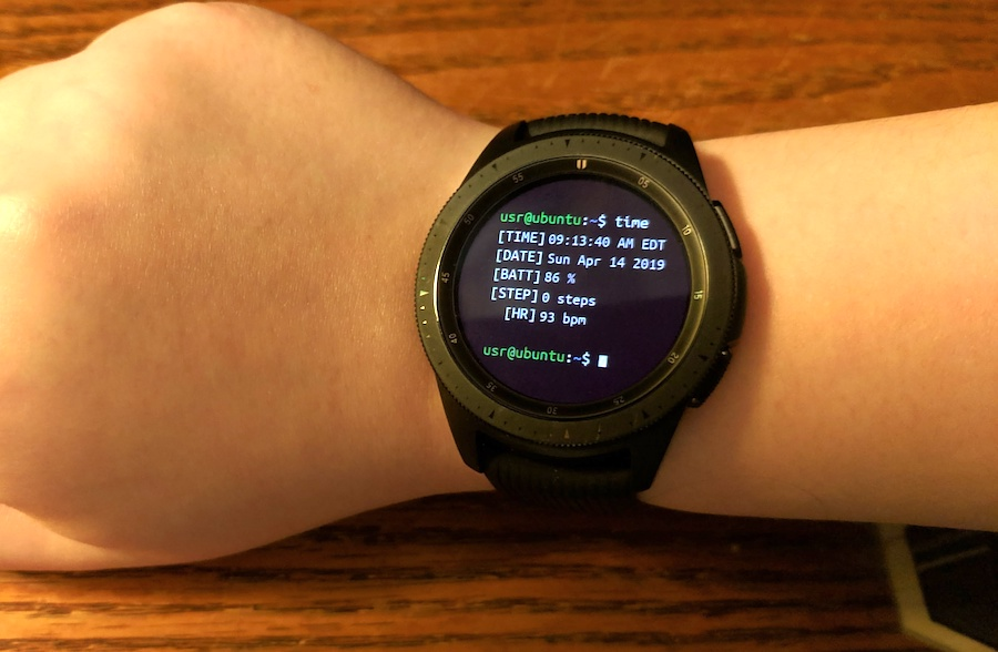 how can i find my galaxy watch