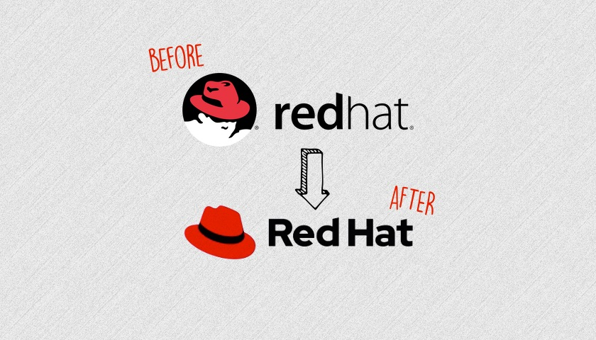 Red Hat has changed its logo for the first time in 20 years - OMG