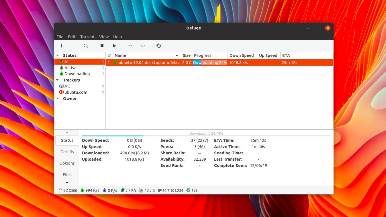Deluge BitTorrent Client Gets Its First Update in 2 Years - OMG! Ubuntu!