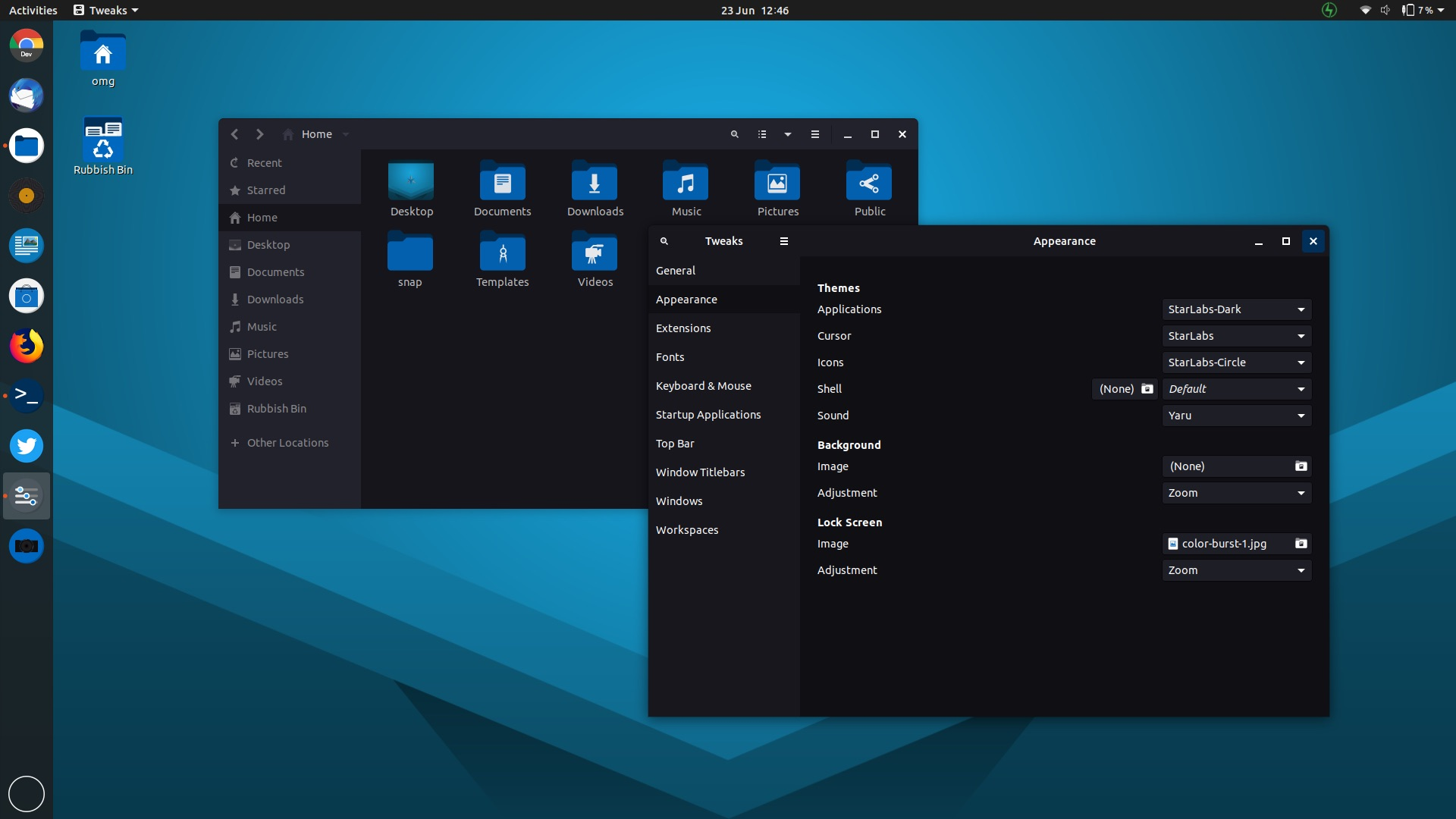 Give Ubuntu an Electric-Blue Look with StarLabs' Theme - OMG