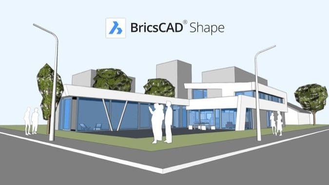BricsCAD Shape is a Free SketchUp Alternative for Ubuntu