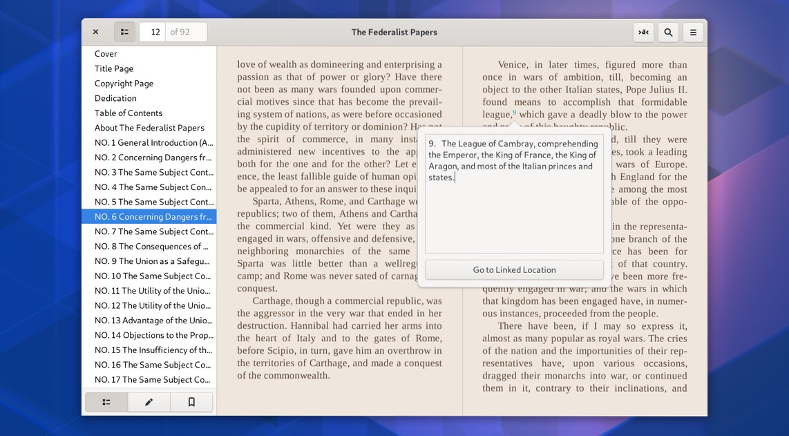 It's Now Easier to Install the 'Foliate' ePub Reader on