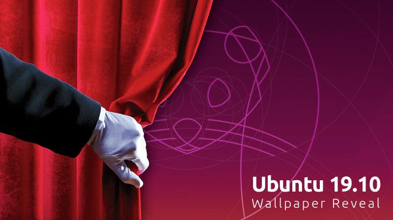 Here S Ubuntu 19 10 S New Default Wallpaper Omg Ubuntu