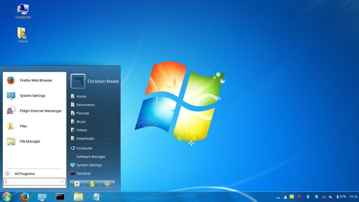 How To Make Linux Mint Look Like Windows 7 Omg Ubuntu