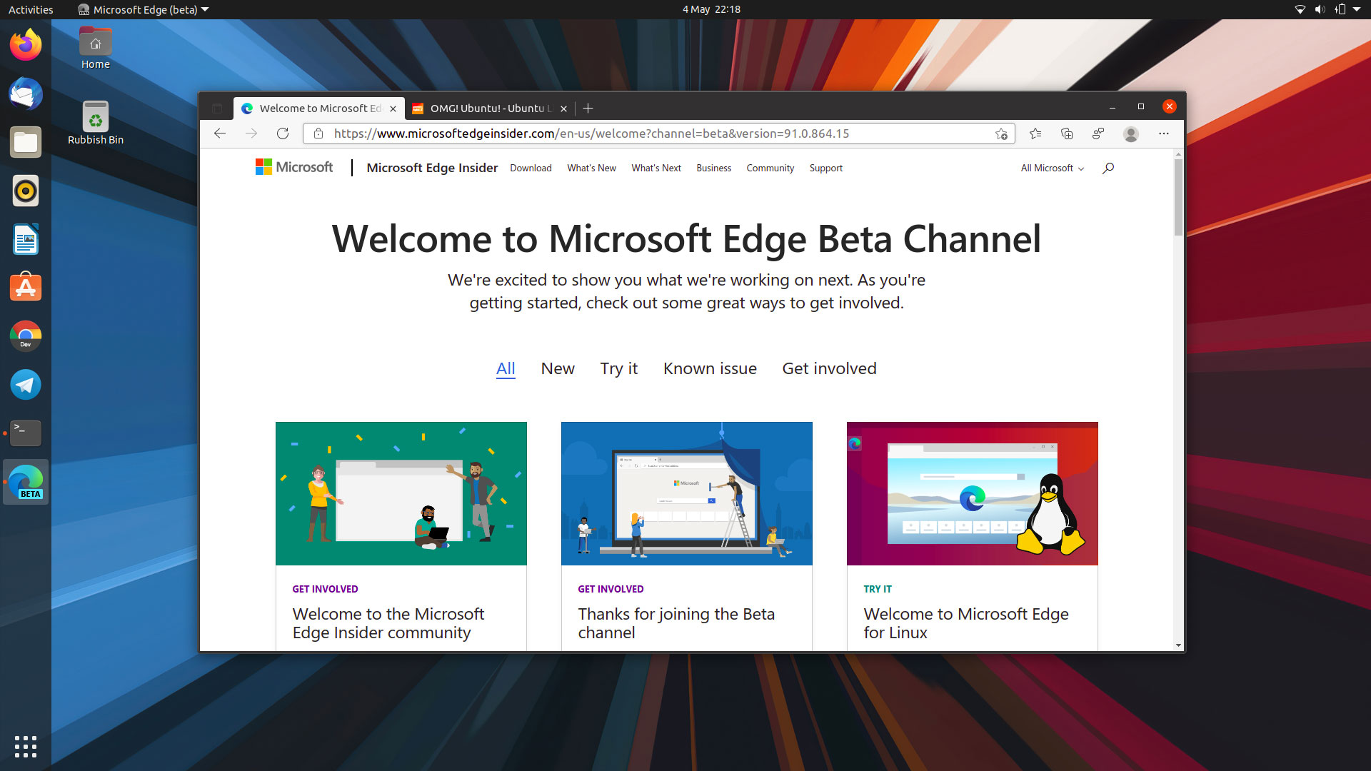 Microsoft Edge for Linux is Now in Beta - lateweb.info
